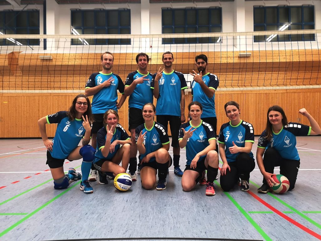 """Mix II Team """"Feuer Drei"""" beim VVV Turnier"""